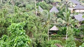 Cabanas da vila Foto de Stock Royalty Free