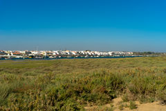 Cabanas de Tavira Arkivbild