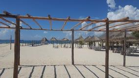 Cabanas de Tiki Fotos de Stock