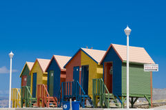 Colorful Cabins in St. James, S.A. Stock Photo