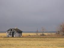 Cabane abandonnée Photo libre de droits