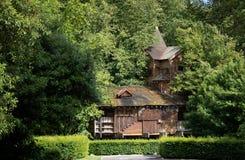 Cabane dans un arbre dans le jardin d'Alnwick en Th R-U photos libres de droits