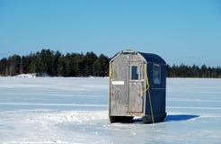 Cabane de glace Images libres de droits