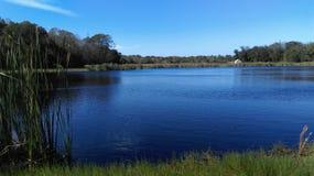 Cabane de lac Images libres de droits