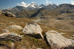 Cabane de Moiry Royalty Free Stock Images