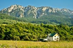 Cabane de montagne Image stock