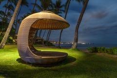 Cabane de plage Images libres de droits