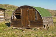 Cabane de Sheepherder Photo libre de droits