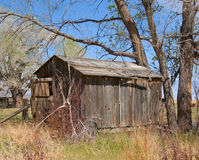 Cabane en bois Image libre de droits