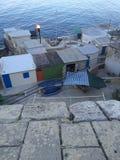 Cabanes de bateau Photo libre de droits