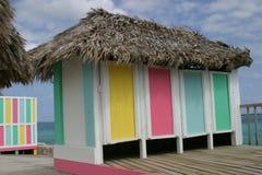 Cabanna des Caraïbes Photographie stock