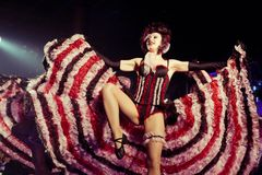 cabaret σύνολο Στοκ φωτογραφία με δικαίωμα ελεύθερης χρήσης