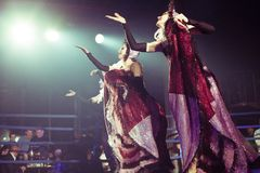 cabaret σύνολο Στοκ εικόνες με δικαίωμα ελεύθερης χρήσης