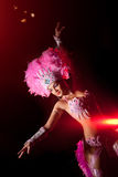 cabaret χορευτής στοκ εικόνες