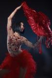 Cabaret Dancer Stock Photo