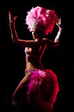 Cabaret dancer Royalty Free Stock Photography