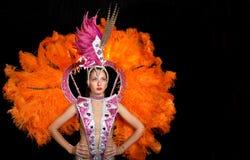 Cabaret dancer Stock Image