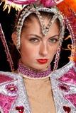 Cabaret dancer Stock Photography