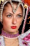 Cabaret dancer Royalty Free Stock Photo