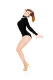 Cabaret dancer Royalty Free Stock Photos