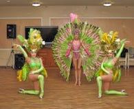 Cabaret dancers Royalty Free Stock Image