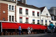 Cabaret de la Boheme  in Paris Royalty Free Stock Photography