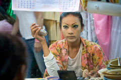 Cabaret del transexual del Alcazar en Tailandia Imágenes de archivo libres de regalías