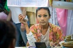 Cabaret del transsessuale di alcazar in Tailandia Immagini Stock Libere da Diritti
