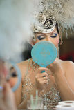 Cabaret del transsessuale di alcazar in Tailandia Immagini Stock