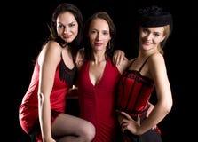Cabaret drie Stock Afbeelding