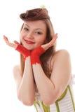 Cabaret girl Royalty Free Stock Photo