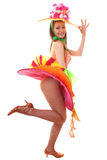 Cabaret girl Royalty Free Stock Images