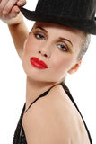 Cabaret girl Stock Photography