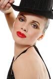 Cabaret girl Stock Photography