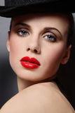 Cabaret girl Royalty Free Stock Photos
