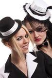 Cabaret girls Royalty Free Stock Photos