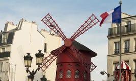 The cabaret Moulin Rouge, Paris, France. Stock Photography