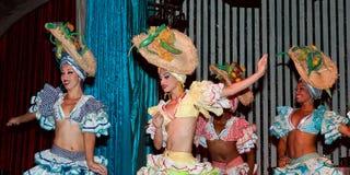 Cabaret Parisien à La Havane Photos stock