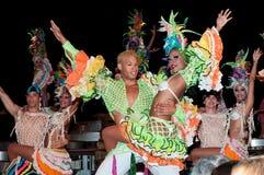 Cabaret Parisien à La Havane Images libres de droits