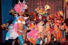 Cabaret Parisien à La Havane photo libre de droits