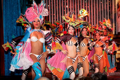 Cabaret Parisien a Avana fotografia stock libera da diritti