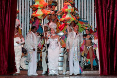 Cabaret Parisien in Havana Royalty Free Stock Images
