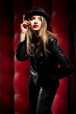 Cabaret performer Stock Images
