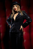 Cabaret performer Royalty Free Stock Image