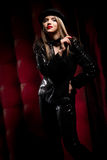 Cabaret Performer Stock Image
