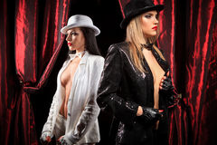 Cabaret performers Stock Image
