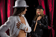 Cabaret performers Royalty Free Stock Photography