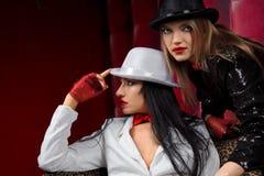 Cabaret performers Stock Photo