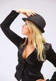 Cabaret showgirl Stock Images