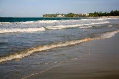 Cabarete海湾, Cabarete,多米尼加共和国 库存照片